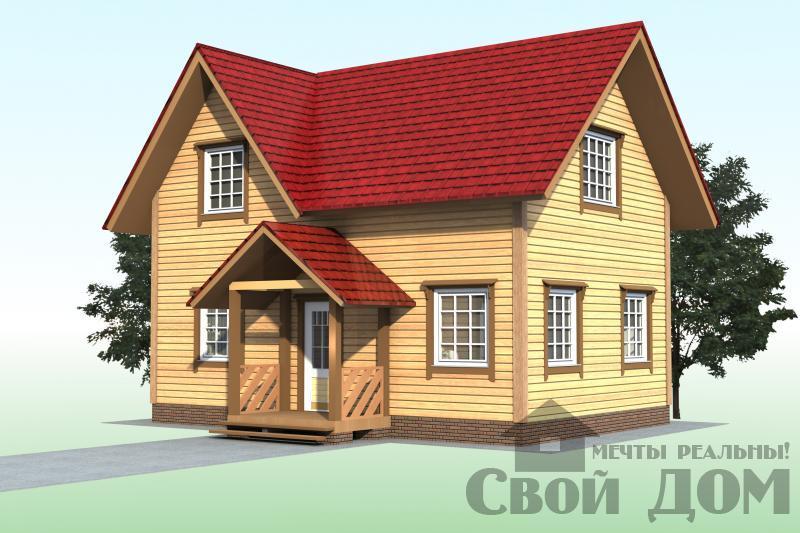 БРУС - 13. Дом 6*9 м