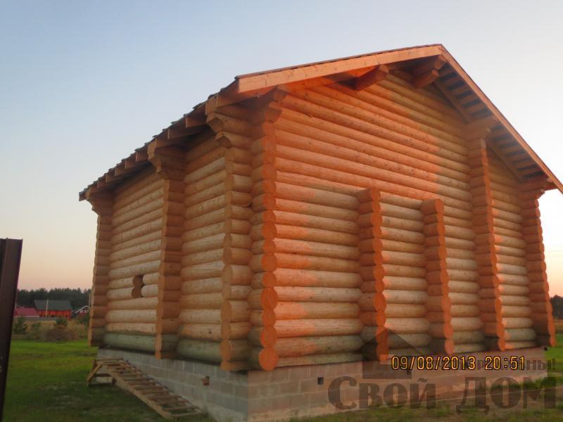 Дом из бревна 10 12 Филипповское, Киржачский р-н. Фото 1