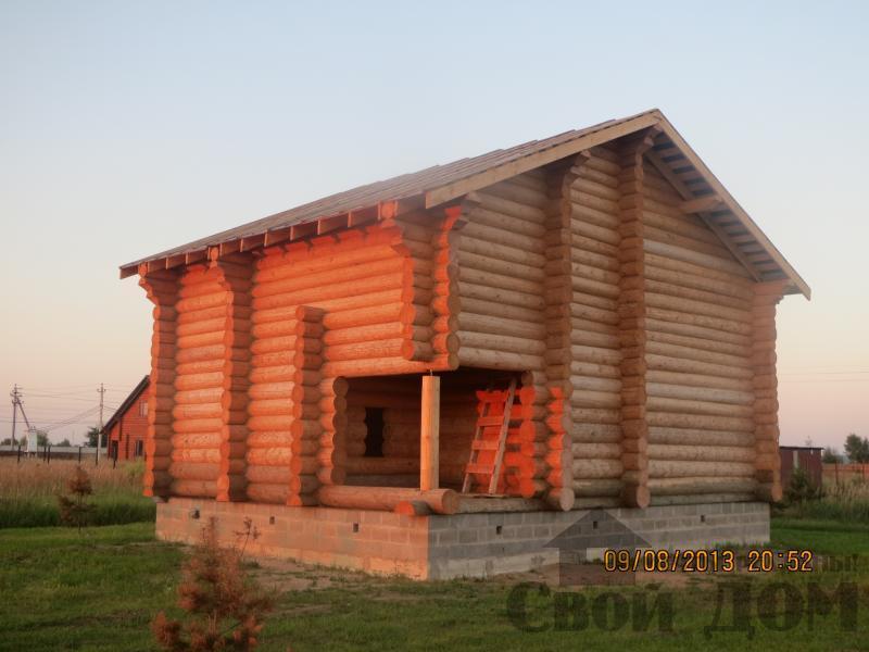 Дом из бревна 10 12 Филипповское, Киржачский р-н. Фото 3
