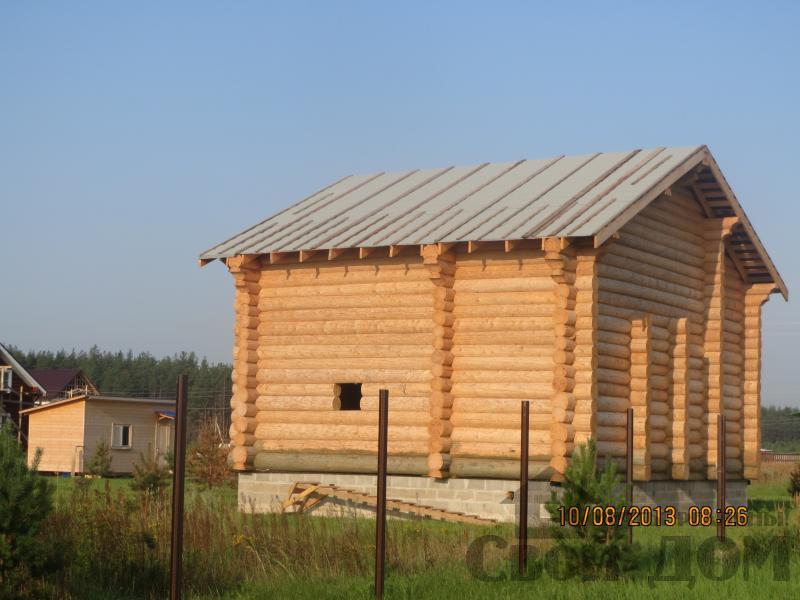 Дом из бревна 10 12 Филипповское, Киржачский р-н. Фото 4