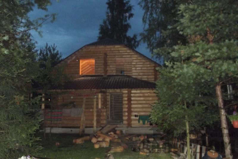 Дом из бревна 7*10 в п. Воровского, Ногинский р-н. Фото 1