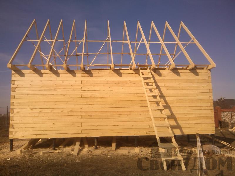 Строительство дома  6 9 в Серпухове. Фото 4