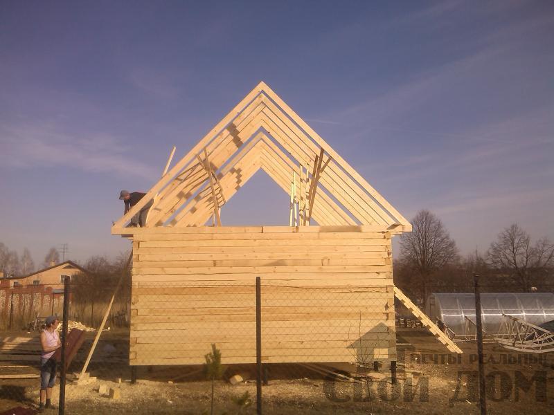 Строительство дома  6 9 в Серпухове. Фото 3