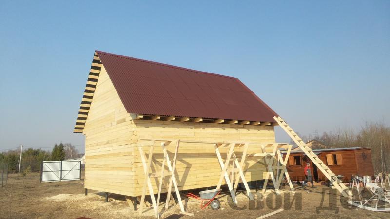 Строительство дома  6 9 в Серпухове. Фото 1