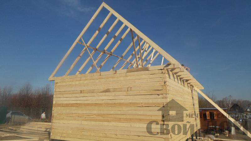 Строительство дома  6 9 в Серпухове. Фото 5