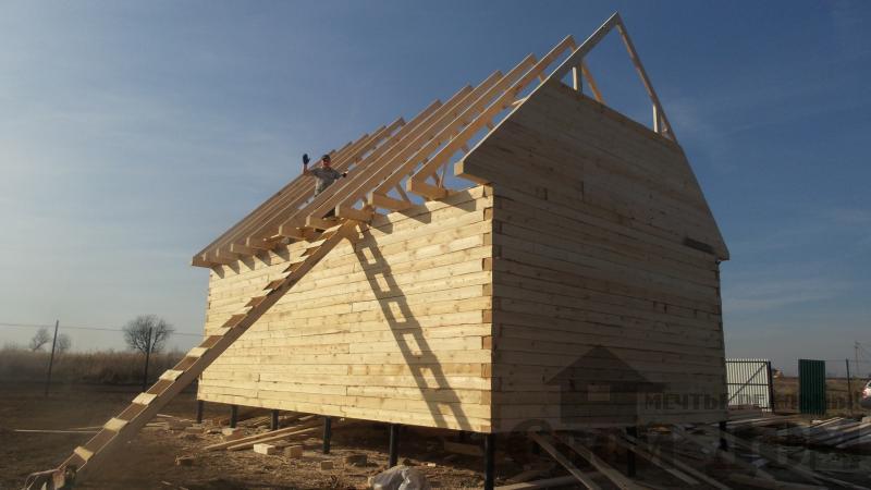 Строительство дома  6 9 в Серпухове. Фото 6
