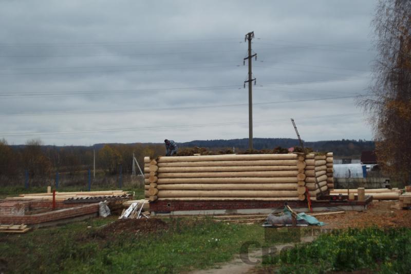 Смоленск. Дом из строганного бревна 6 на 9. Фото 4