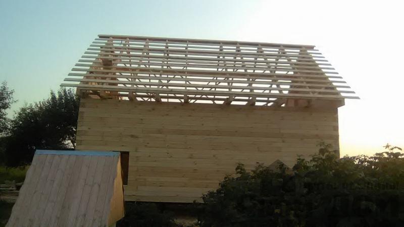 Дом по проекту Брус 1, 6 на 9м собран в теплый угол. Фрязево, Ногинский р-н. Фото 5