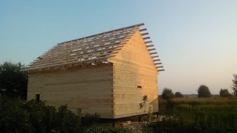 Дом по проекту Брус 1, 6 на 9м собран в теплый угол. Фрязево, Ногинский р-н. Фото 3