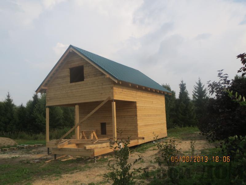 Ярославль. Дом из простого бруса 150*150мм для постоянного проживания 6 на 9. Фото 5