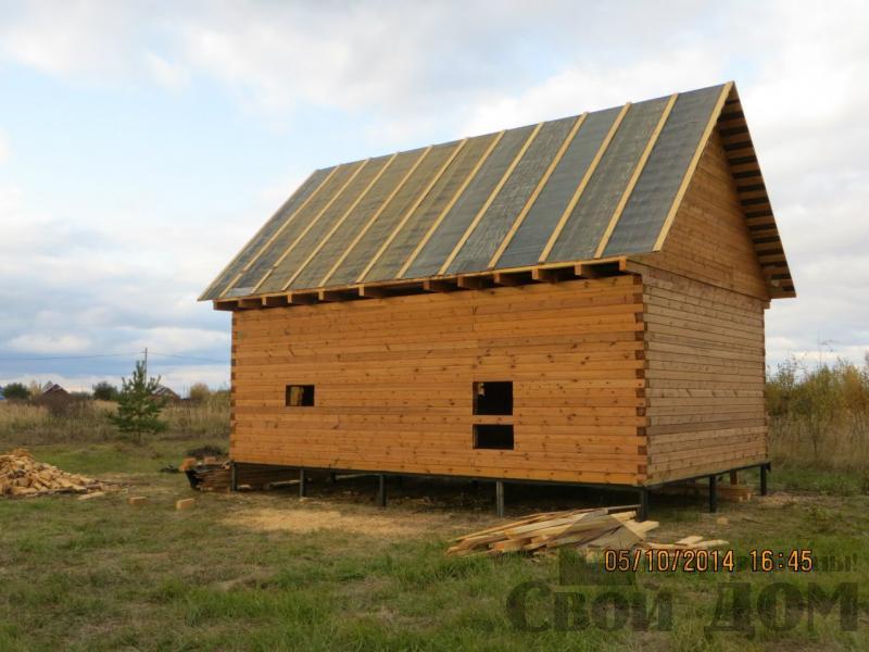 Дом из профилированного бруса 6*9 м. Красное, Суздальский р-н. Фото 1