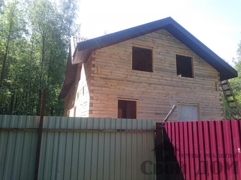 Строительство загородного дома 8 на 11 в Балашихе. Фото 3