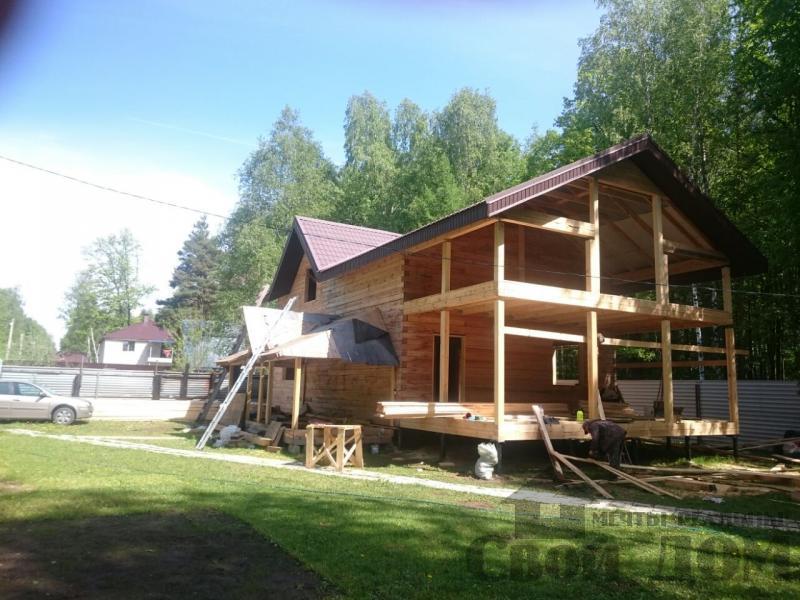 Строительство загородного дома 8 на 11 в Балашихе. Фото 6