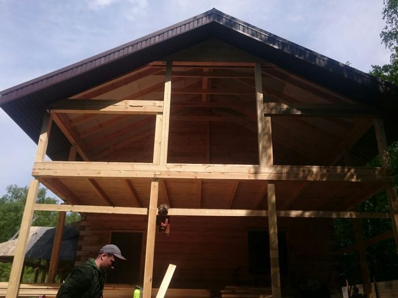 Строительство загородного дома 8 на 11 в Балашихе. Фото 7