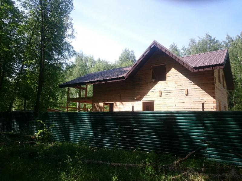 Строительство загородного дома 8 на 11 в Балашихе. Фото 9