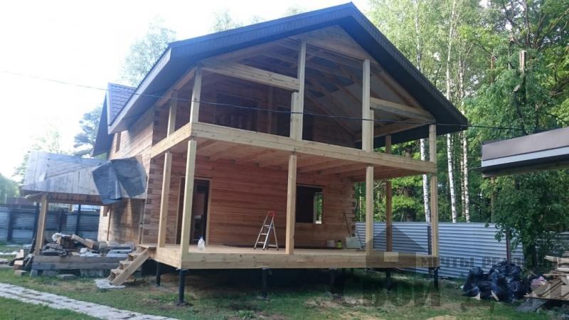 Строительство загородного дома 8 на 11 в Балашихе. Фото 1