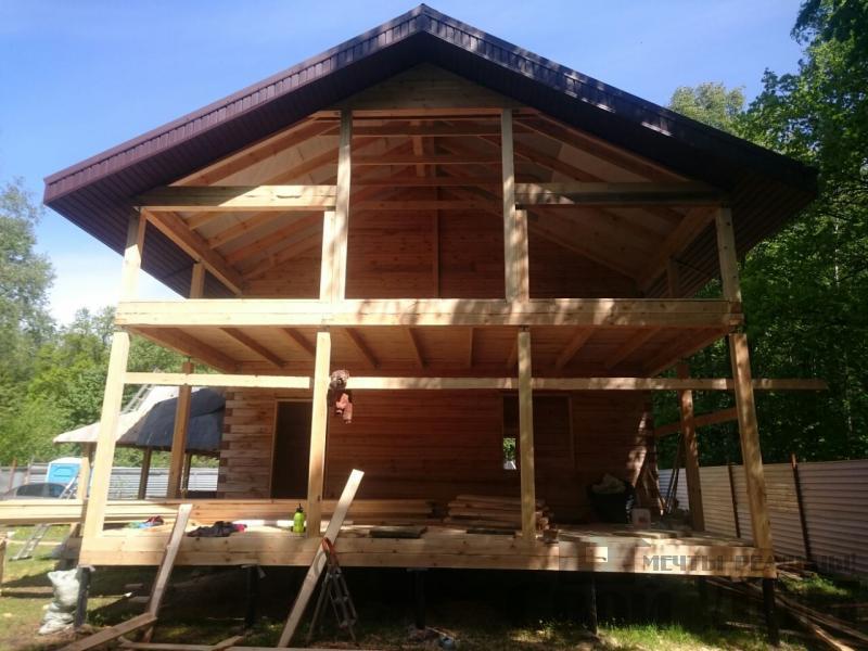 Строительство загородного дома 8 на 11 в Балашихе. Фото 12