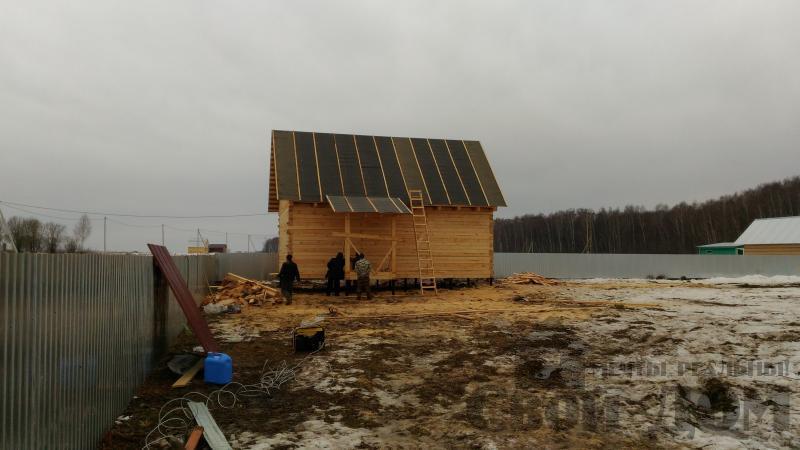 Дом 6 на 9 по проекту Брус 1 для постоянного проживания в Киржаче. Фото 2
