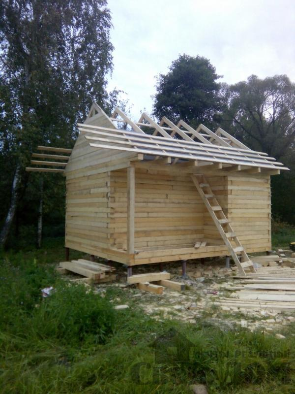 Построили баню в Костроме. Фото 2