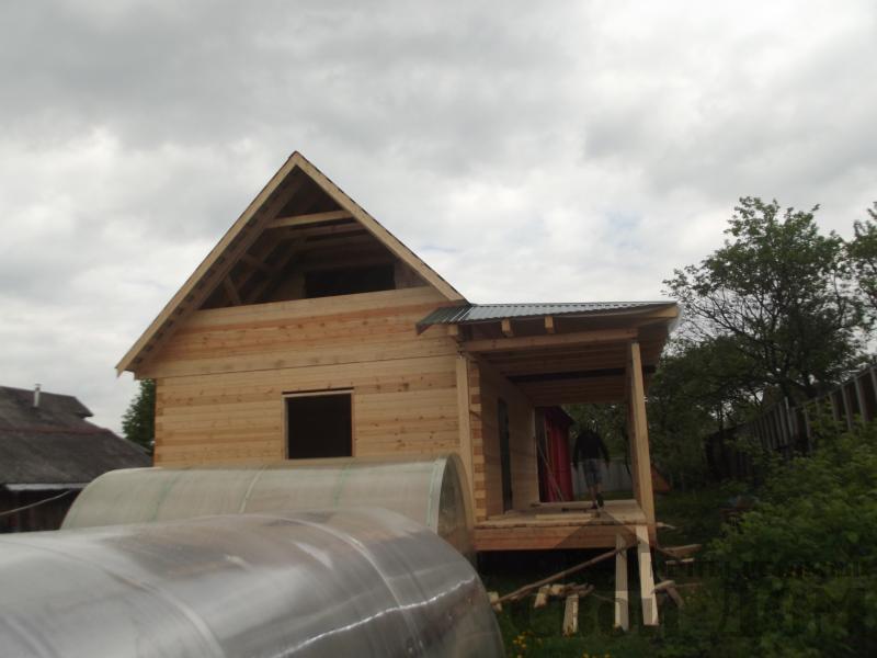Строительство дома 7 на 9 из профилированного бруса в п. Белый Раст. Фото 3