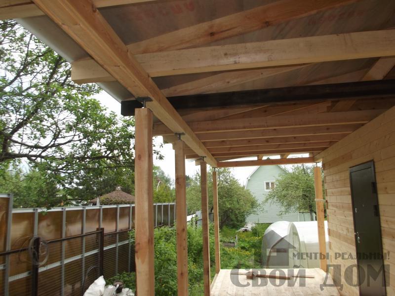 Строительство дома 7 на 9 из профилированного бруса в п. Белый Раст. Фото 21