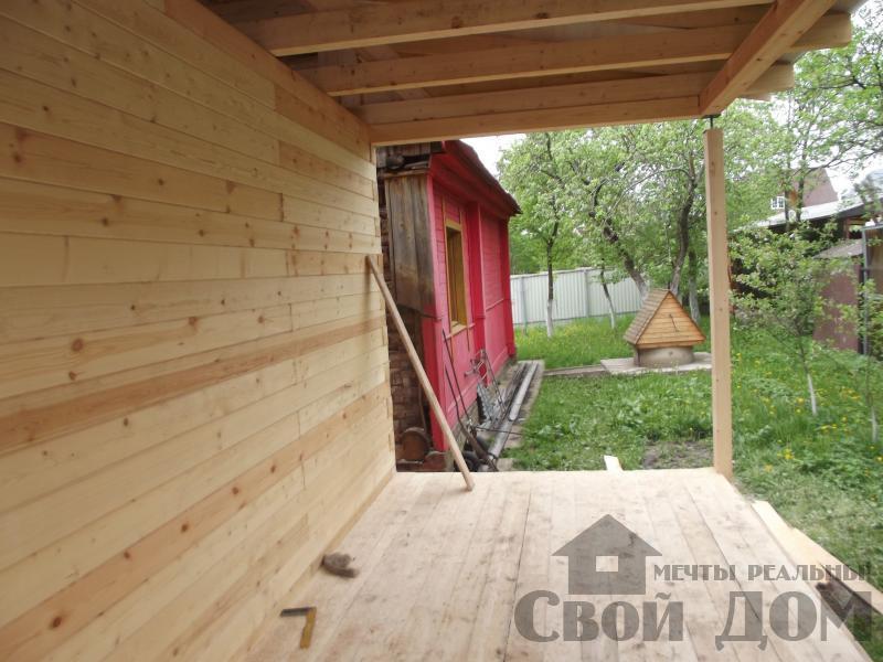 Строительство дома 7 на 9 из профилированного бруса в п. Белый Раст. Фото 25