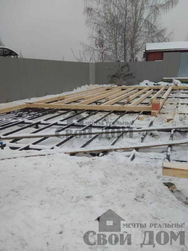 Строительство беседки 6 на 12 в Раменском. Фото 23