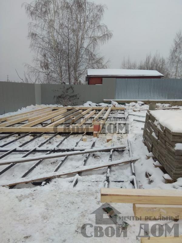 Строительство беседки 6 на 12 в Раменском. Фото 25