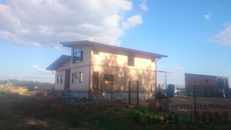 Отделка дома 12 на 14 собранного по технологии брус стоя в Боровске. Фото 16