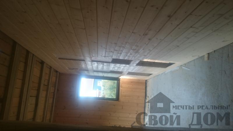 Отделка дома 12 на 14 собранного по технологии брус стоя в Боровске. Фото 23
