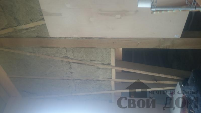 Отделка дома 12 на 14 собранного по технологии брус стоя в Боровске. Фото 38
