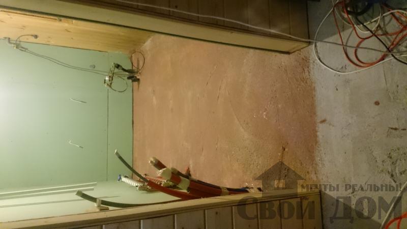 Отделка дома 12 на 14 собранного по технологии брус стоя в Боровске. Фото 49