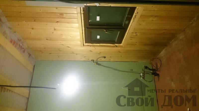 Отделка дома 12 на 14 собранного по технологии брус стоя в Боровске. Фото 50