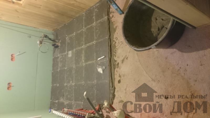 Отделка дома 12 на 14 собранного по технологии брус стоя в Боровске. Фото 71