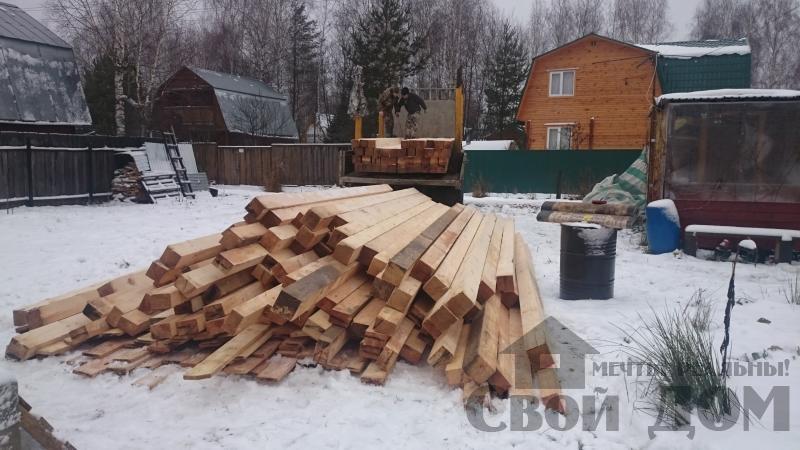 дом 8 на 10 из профилированного бруса для постоянного проживания в п. Воровского. Фото 2