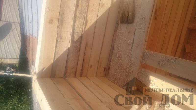 Строительство загородного дома в Серпуховском районе. Фото 10