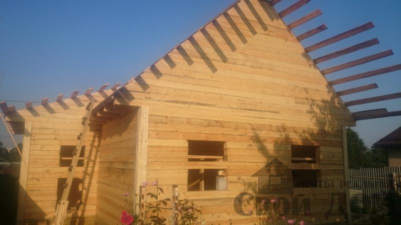Строительство загородного дома в Серпуховском районе. Фото 12