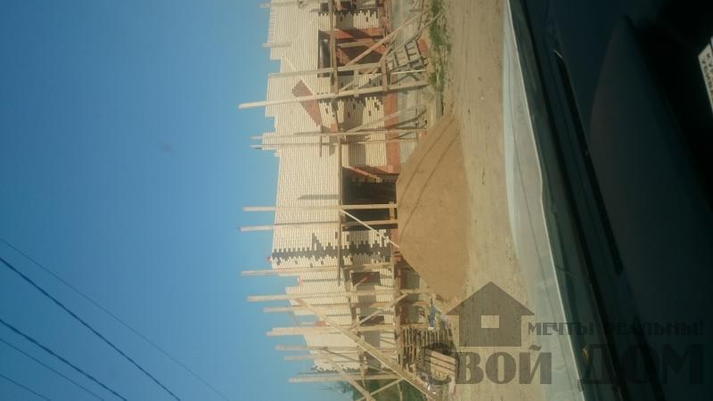 строительство крыши на доме 12 на 14 из кирпича. Фото 7