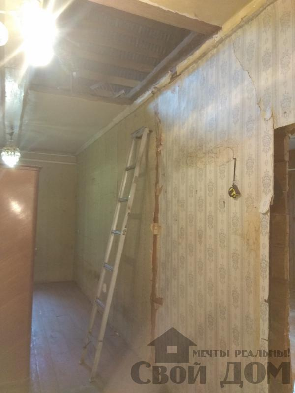 реконструкция жилого дома в Ильинском. Фото 1