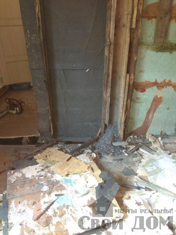 реконструкция жилого дома в Ильинском. Фото 9
