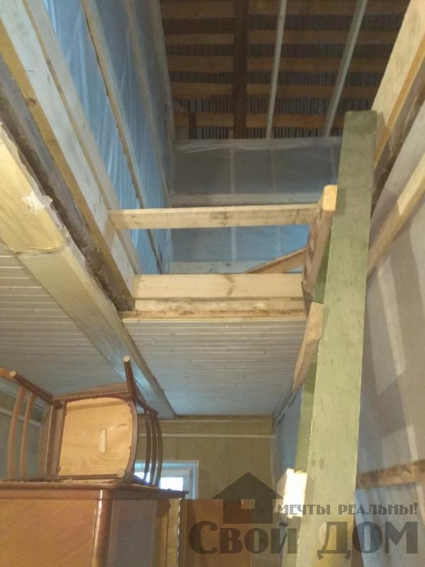 реконструкция жилого дома в Ильинском. Фото 12