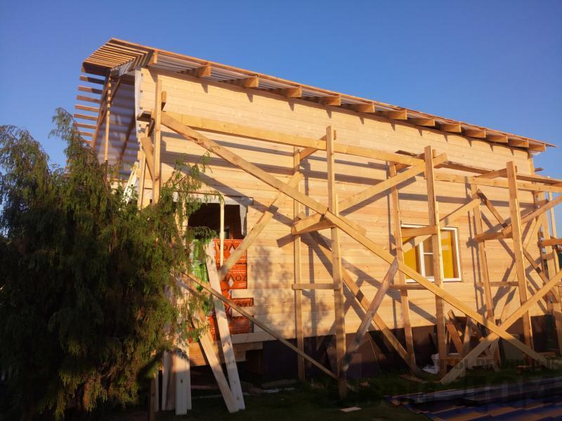 реконструкция дом-баня 8 на 8 в Загорново Раменский район. Фото 1