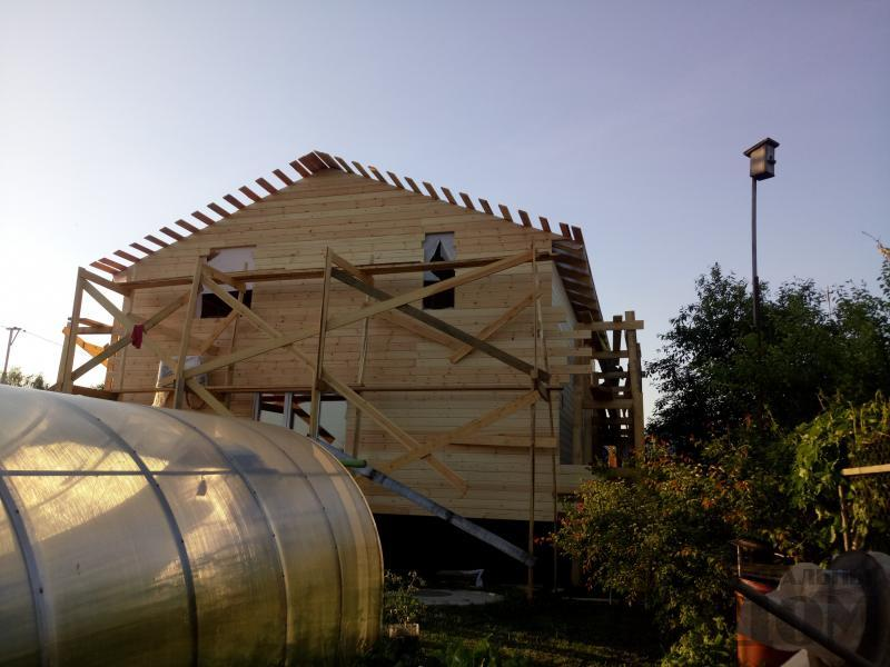 реконструкция дом-баня 8 на 8 в Загорново Раменский район. Фото 3