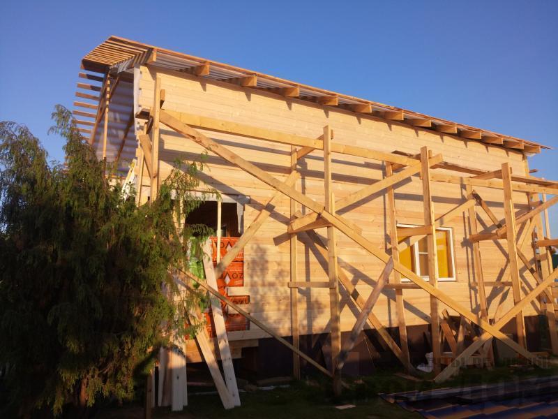 реконструкция дом-баня 8 на 8 в Загорново Раменский район. Фото 4