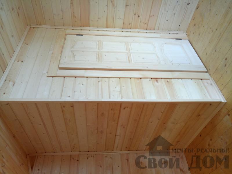 реконструкция дом-баня 8 на 8 в Загорново Раменский район. Фото 7