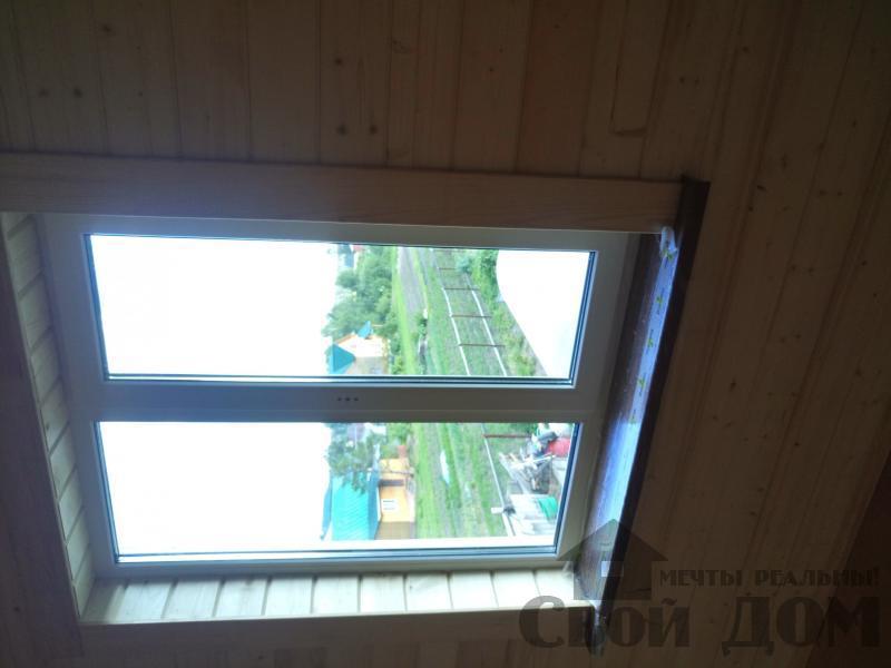 реконструкция дом-баня 8 на 8 в Загорново Раменский район. Фото 9