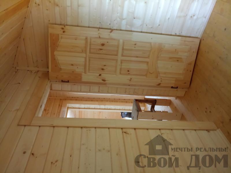 реконструкция дом-баня 8 на 8 в Загорново Раменский район. Фото 15