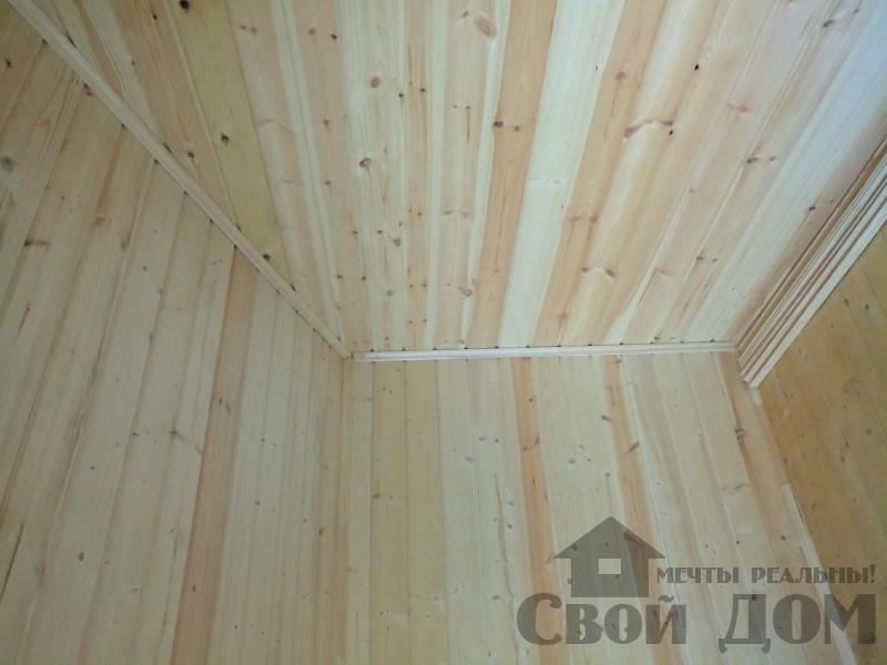 реконструкция дом-баня 8 на 8 в Загорново Раменский район. Фото 16