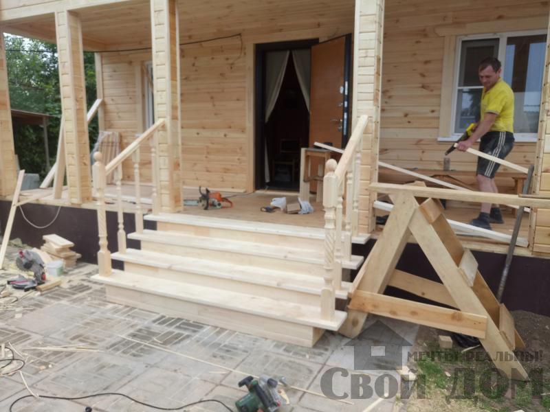 реконструкция дом-баня 8 на 8 в Загорново Раменский район. Фото 17