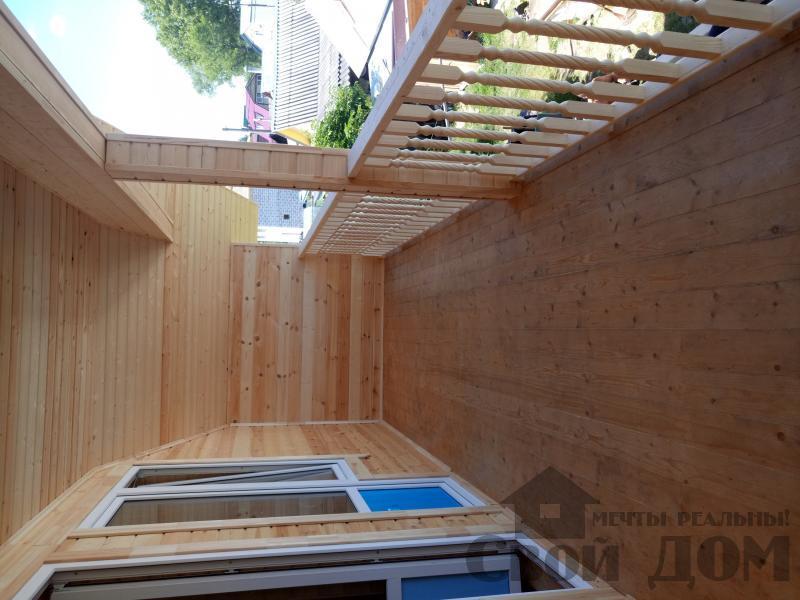 реконструкция дом-баня 8 на 8 в Загорново Раменский район. Фото 19